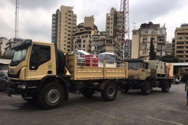 Philips Foundation deploys field hospital to support Lebanon