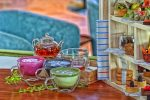 SAVOUR A HEALTHY AFTERNOON TEA AT THE RETREAT PALM DUBAI