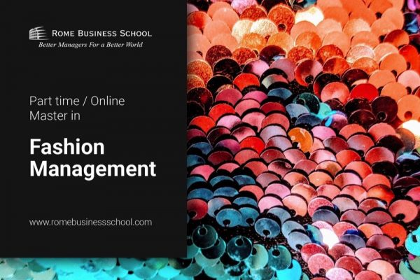 Master in Fashion & Design Management