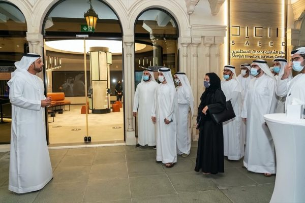 """Invest in Sharjah Hosts Members of """"Young Economist Programme""""discussing role"""