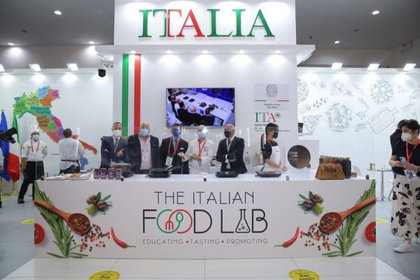 ITAlian Food Lab by ITA in Gulfood connects people through authentic
