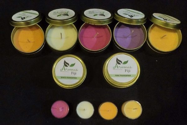 Aromas Fiji launches fragrant homemade candles & soaps