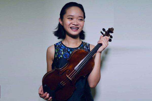 Park House English School Student wins best violinist award