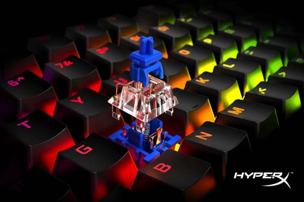 HyperX Adds Blue Mechanical Switches