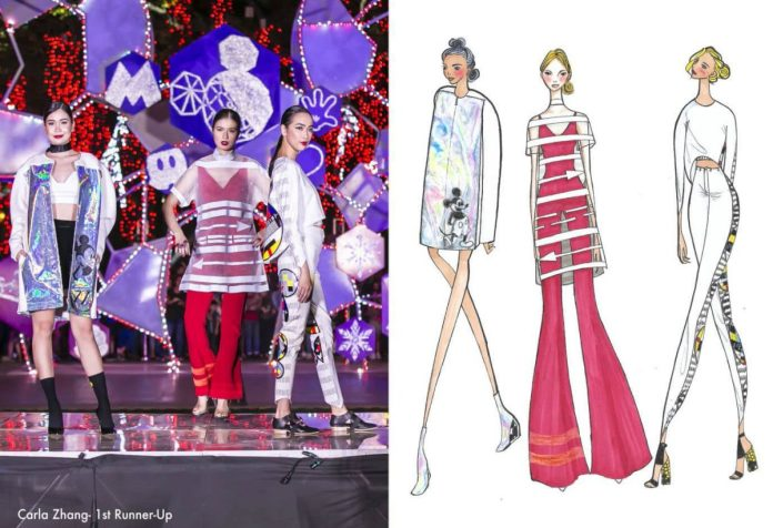 "Jiale ""Carla"" Zhang Fashion Designers Celebrate 90 years of Mickey Mouse"