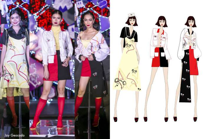 Joy Geocado Fashion Designers Celebrate 90 years of Mickey Mouse