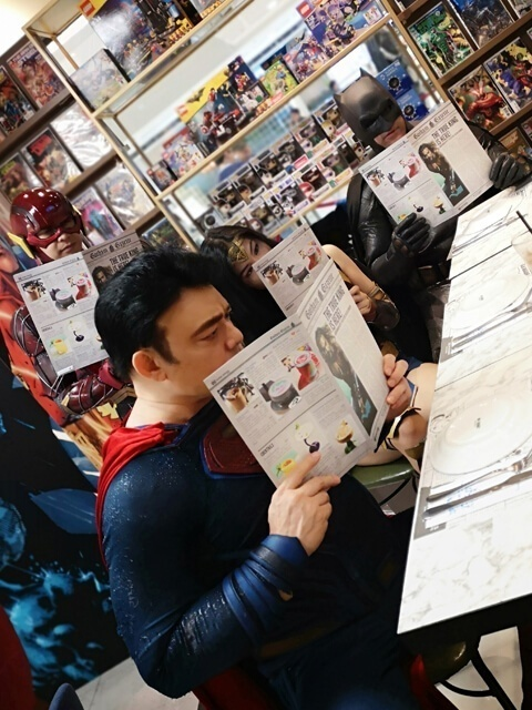 DC Super Heroes Cafe PH