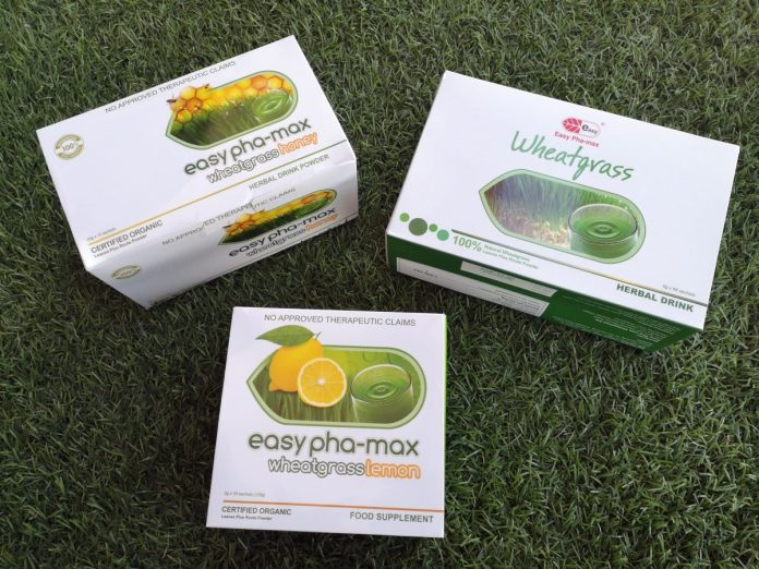 Easy Pha-max Wheatgrass
