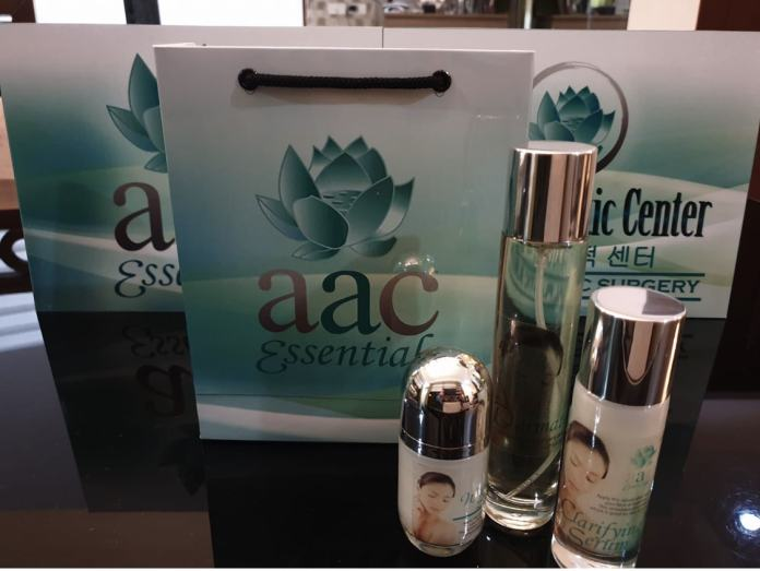 AAC Essentials Skin Care line