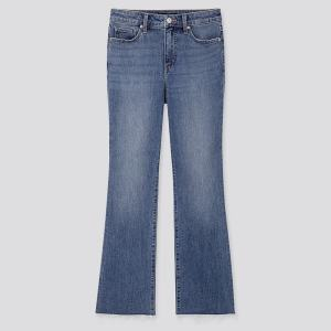 UNIQLO Women's High Rise Skinny Flare Ankle Jeans