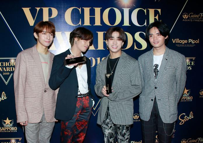 VP Choice Awards SB19 wins Group Performer of the Year