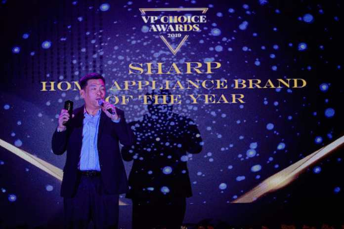 VP Choice Awards Sharp wins Home Appliance Brand of the Year