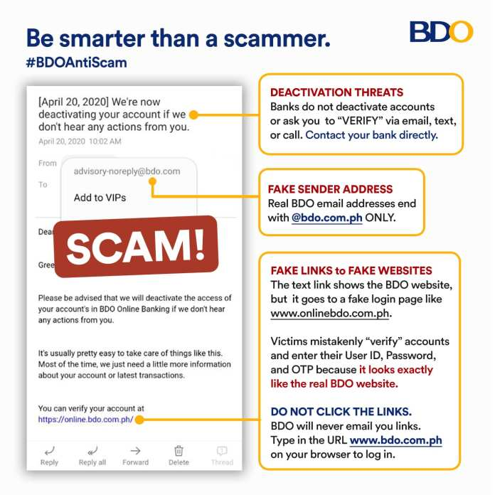 6 tips to be smarter than a scammer