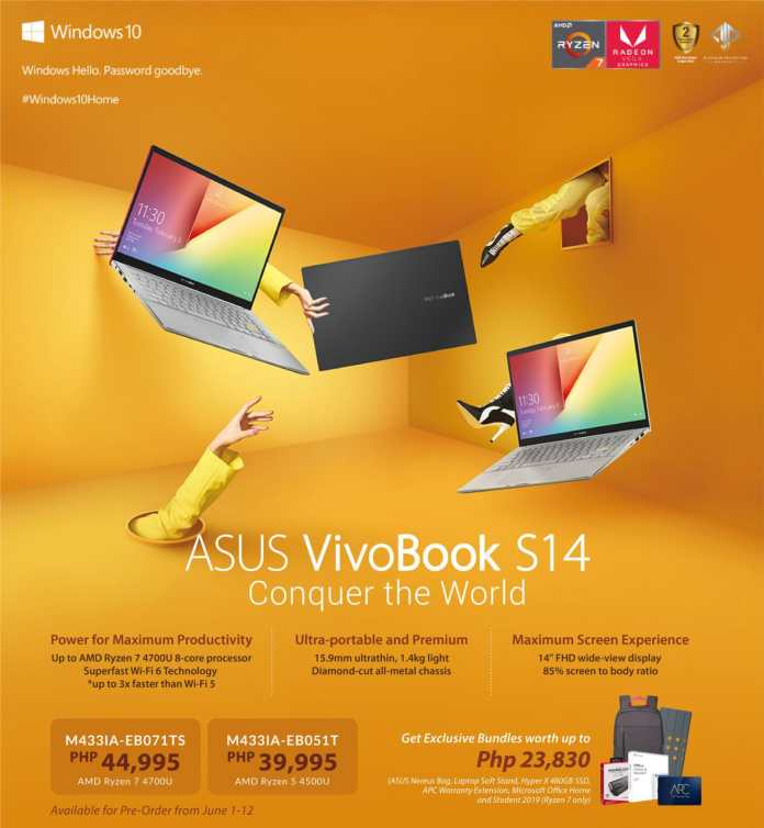 Conquer the World with the Newest ASUS VivoBook S14
