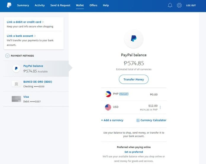Transfer From Paypal To Paymaya - PayPal Homepage