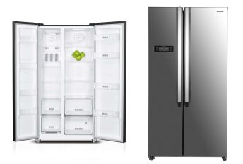 Side by Side Refrigerator to be inlcuded alongside 4-Door Glass Door