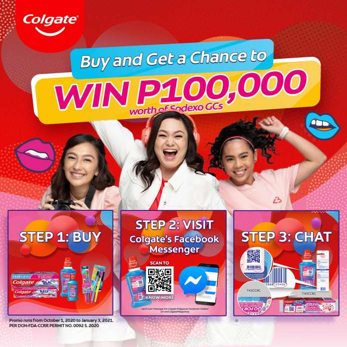 Colgate's Smile and Go For Your Dreams! promo gives you a chance to win P100,000 so you can confidently take on the world with Xtra Freshness! Colgate, the #1 Oral Care brand in the Philippines, is on a mission to create a future everyone can SMILE about. They believe in empowering Filipinos like you to continue bravely pursuing your passions with a smile. Get that boost of freshness and confidence with the NEW Limited Edition Colgate Smile and Go For Your Dreams! products. Colgate Fresh Confidence Smile and Go For Your Dreams! Limited Edition Spicy Fresh Toothpaste comes in Spicy Fresh flavor in red gel with Cooling Crystals for an intense cooling and a super fresh experience while Colgate Plax Smile and Go For Your Dreams! Promo Limited Edition Peppermint Fresh Mouthwash with a refreshing peppermint taste kills over 99% of bacteria and gives long-lasting fresh breath! Feel confident all day so you can show off that great smile as you have courage and aim for your goals! #SmileAndGoForYourDreams! You can get yours now and boldy chase your dreams! Available in Colgate's Official Store on Shopee while at the comfort of your own home. Don't forget to download the Shopee app for free from the App Store or Google Play. Leave a comment down below and share your thoughts with us! Want more features like this? Please follow us on Facebook, Twitter, and Instagram to get the latest trends.