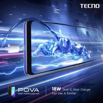 Tecno POVA - 18W Flash Charger