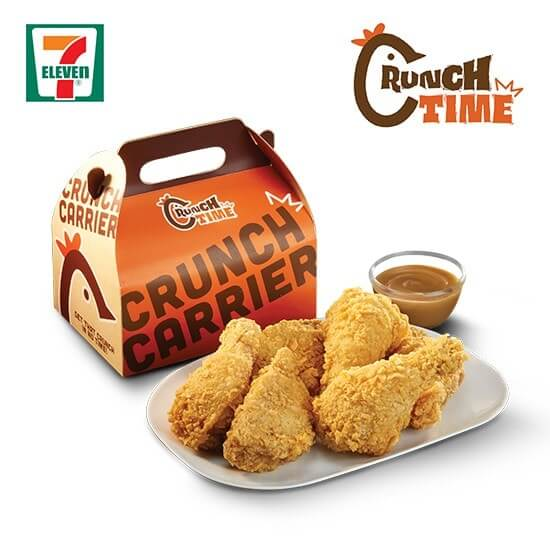 Crunch Carrier Chicken 6pcs