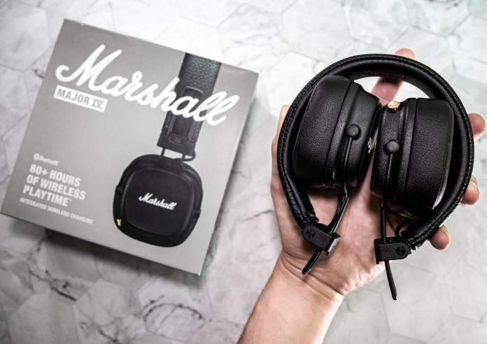 Marshall Major IV headphone