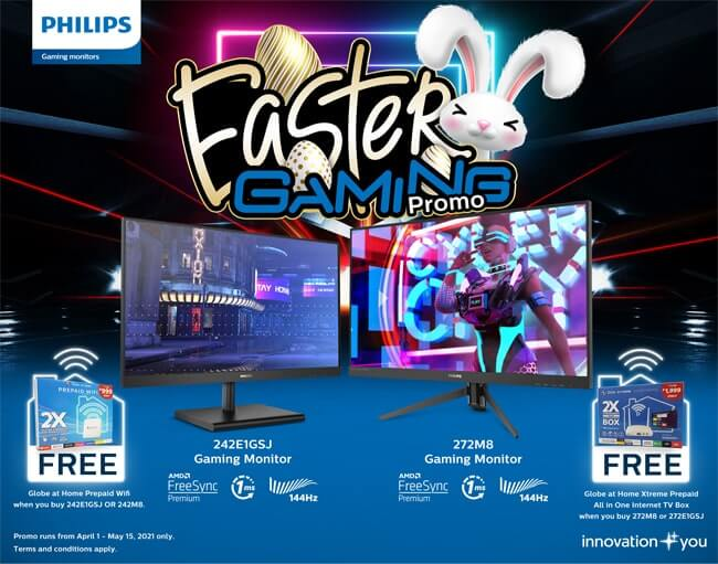 Philips Easter Gaming Promo Half Size