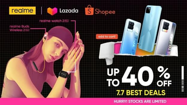 realme products and more for up to 40% off this 7.7