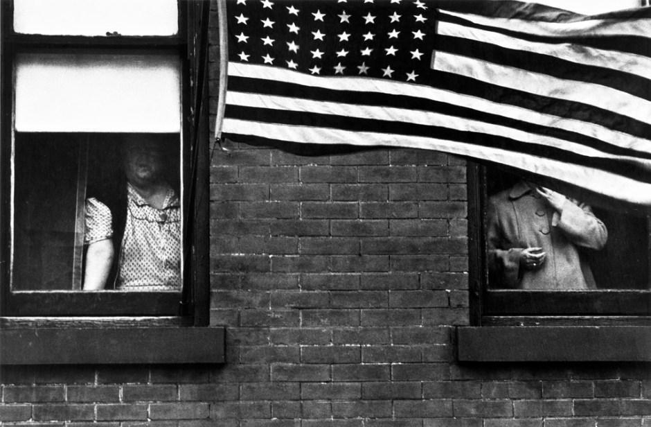 Robert Frank, Bandiera, 1955