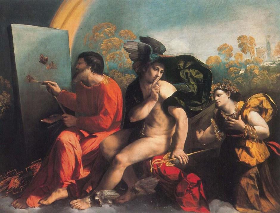 Dosso Dossi, Giove, Mercurio e la Virtù, 1523-24