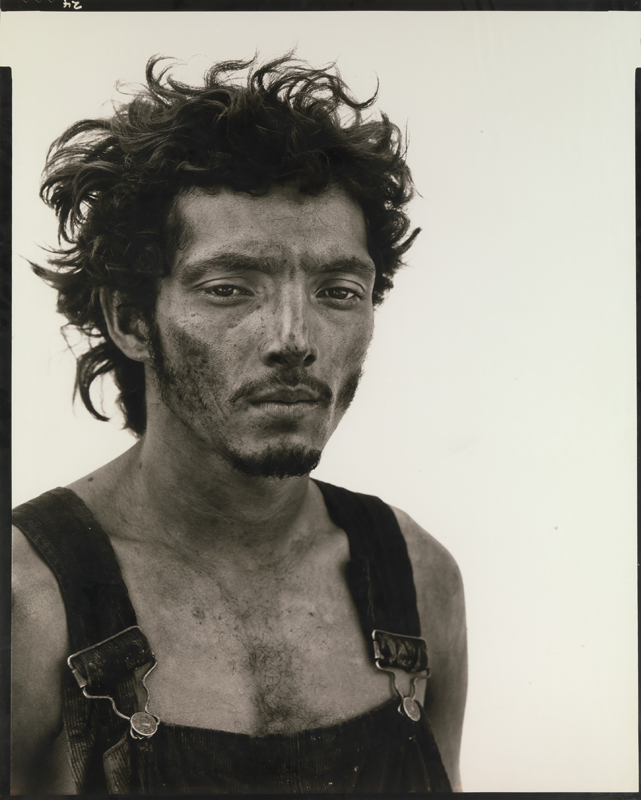 Richard Avedon, Roberto Lopez, In the American West, 1980