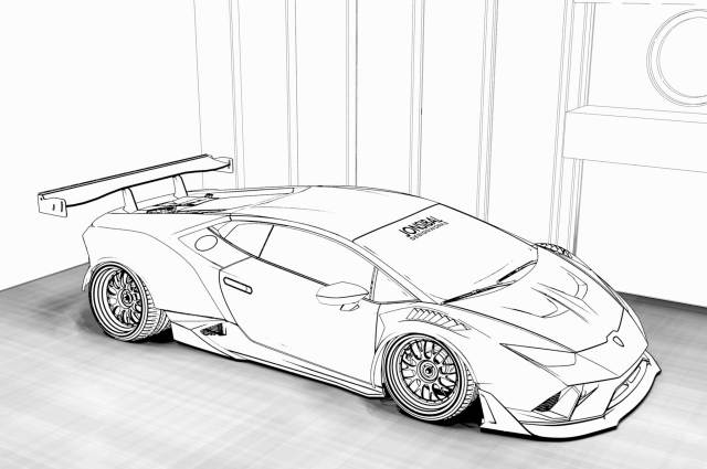 Mclaren 24s coloring page – iconmaker.info