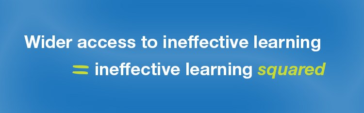 ineffective professional learning