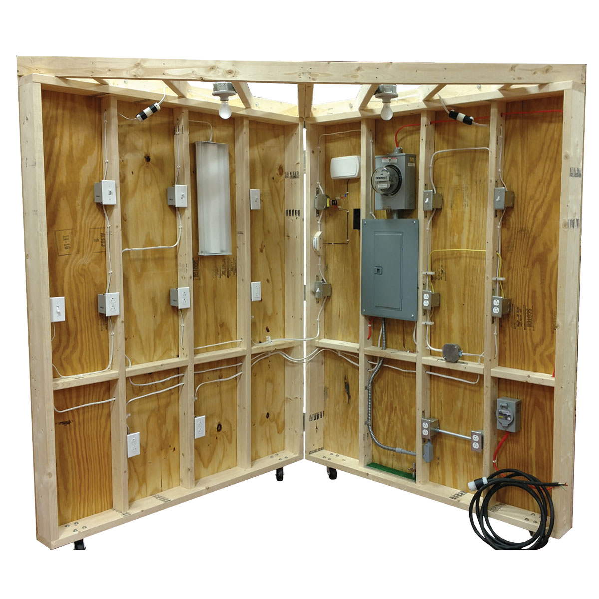 hight resolution of tue 200 residential wiring demonstrator