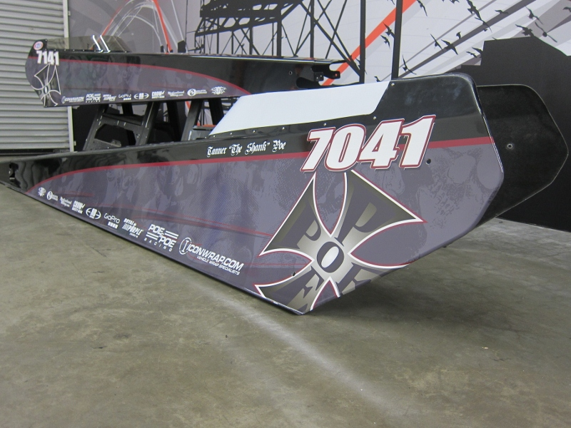 Jr Dragster Vehicle Wraps Los Alamitos CA