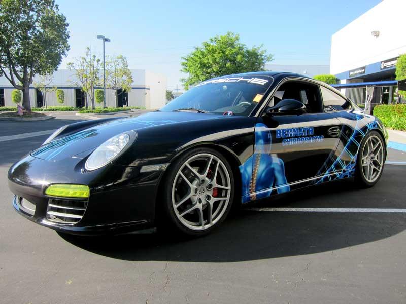 Porsche Race Graphics By Iconography Orange County CA