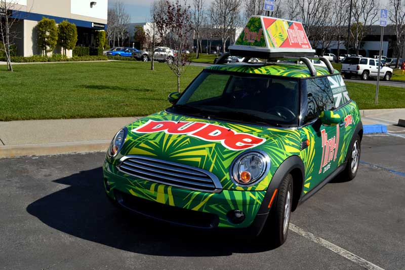 ThreeO Mini Cooper Vehicle Wraps