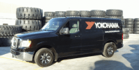 Window Graphics Dress Up Nissan Trucks for Yokohama