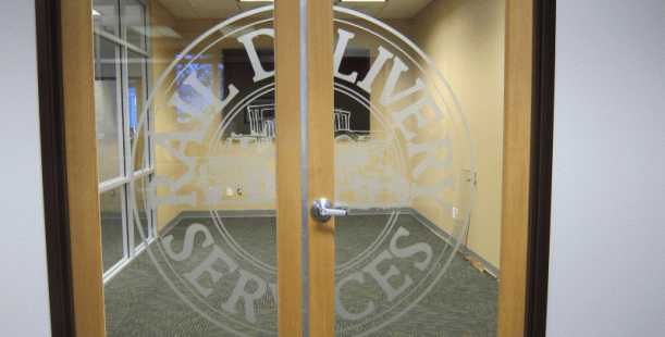Etched Vinyl Decals On Glass Fontana CA