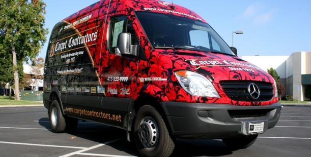Full wrap for Carpet Contractors  San Francisco CA
