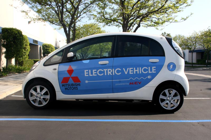 Mitsubishi iMiEV Electric Vehicle Wraps  Los Alamitos