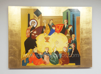 Icon The Last Supper