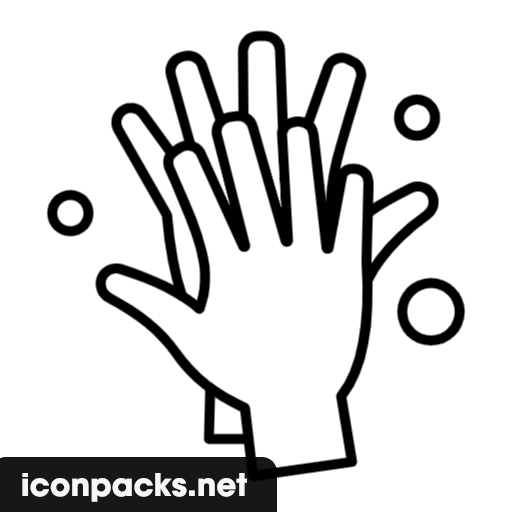 Free Hand Wash Icon, Symbol. Download in PNG, SVG format.