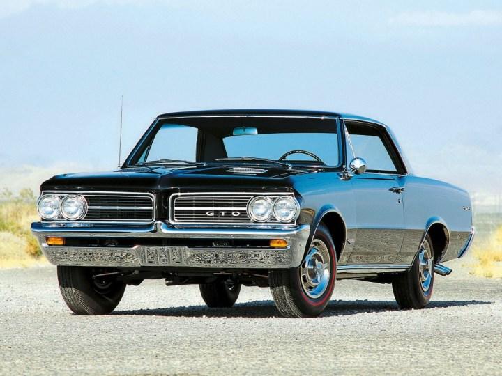 Muscle Cars y Pony Cars: con él empezó todo, Pontiac GTO de 1964