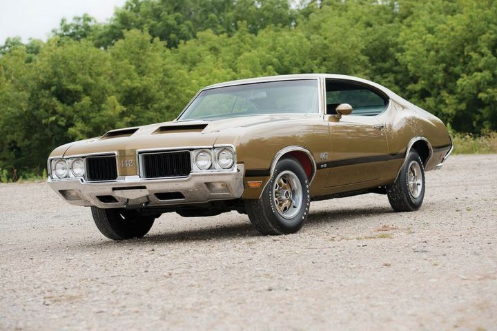 Muscle Cars y Pony Cars: Oldsmobile 442 (1970)