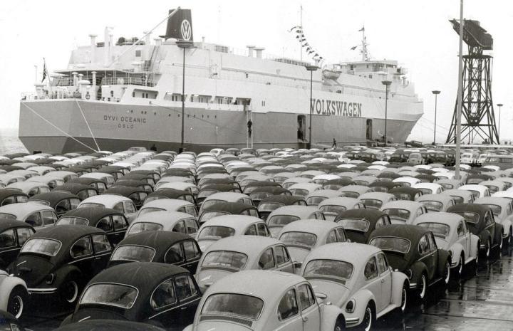 Volkswagen: contribuyendo a la balanza de pagos alemana...