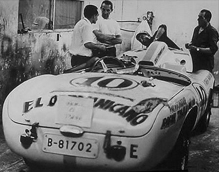 """Pegaso """"El Dominicano"""" de la Carrera Panamericana de 1954"""