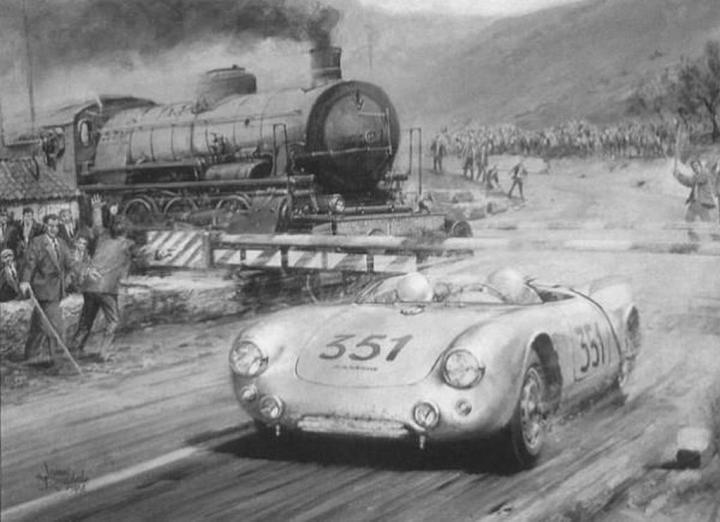 Mille Miglia: Herrmann y Linge, jugándoselo todo