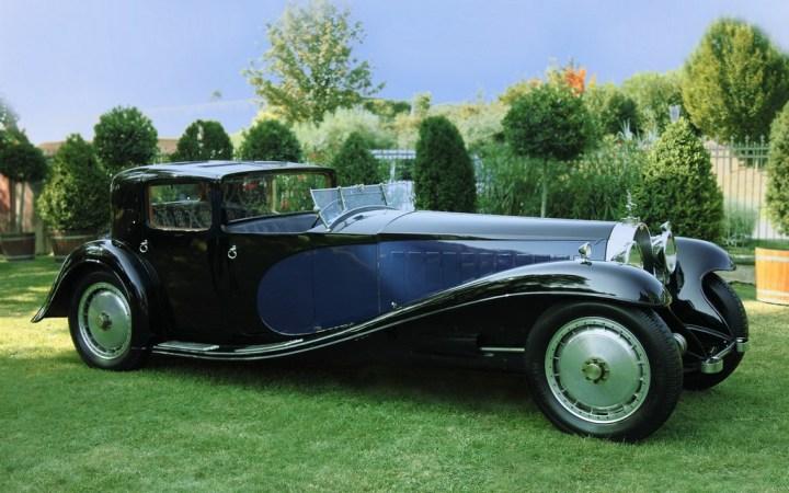 "El Bugatti Tipo 41 Royale carrozado por Kellner, apodado ""Coupé de Patron"""