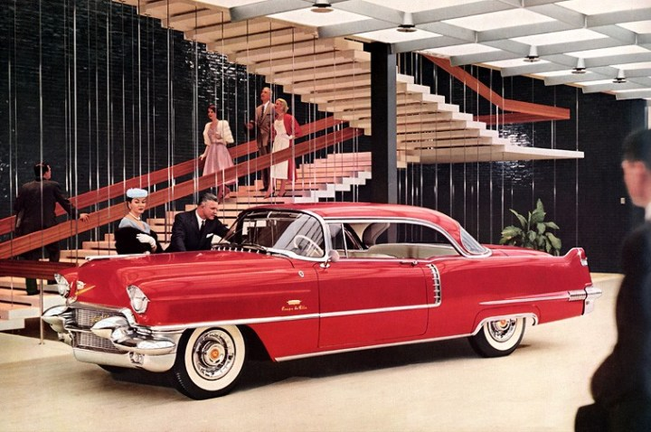Cadillac Series 62 Coupe de Ville (1956) | General Motors