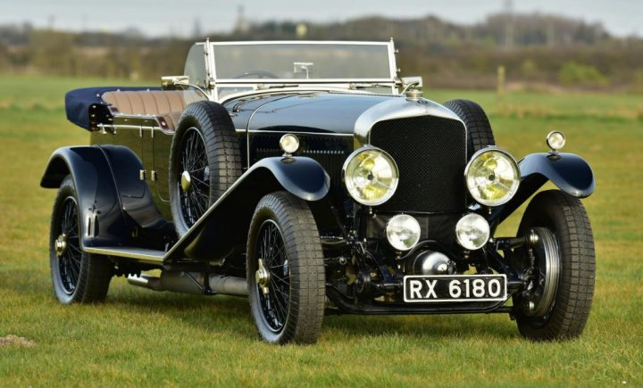 Bentley Speed Six Long Chassis Vanden Plas style Tourer (1930) | Foto: vandp.net