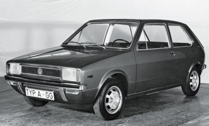 Volkswagen Golf: Prototipo EA 337 diseñado por Giugiaro   Volkswagen